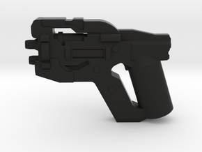 Scatter Pistol in Black Natural Versatile Plastic