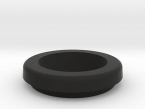 Round Sx350 Bezell 20mm in Black Natural Versatile Plastic