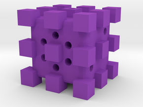 Dice67 in Purple Processed Versatile Plastic