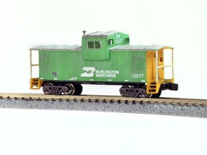 Widevision Caboose - Zscale in Frosted Ultra Detail