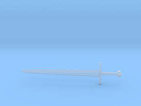 Broadsword Etched in Smooth Fine Detail Plastic