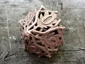 Botanical Die10 (Oak) in White Strong & Flexible