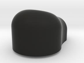 HT MT Brille Volumen Schraeg in Black Natural Versatile Plastic