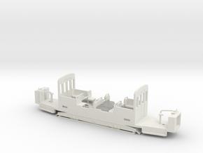 BVG TF 40 Unterteil für LH-Antrieb in White Natural Versatile Plastic