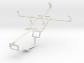 Controller mount for Xbox One & Prestigio MultiPho in White Natural Versatile Plastic