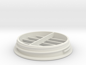 CHEAP TOYOTA HIACE ROOF AIR CONDITIONING VENT 05 - in White Natural Versatile Plastic