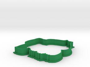 Bulbasaur Cookie Cutter in Green Processed Versatile Plastic