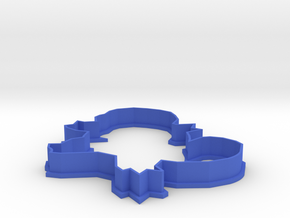 Squirtle Cookie Cutter in Blue Processed Versatile Plastic