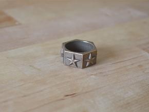 AllStar Ring in Stainless Steel