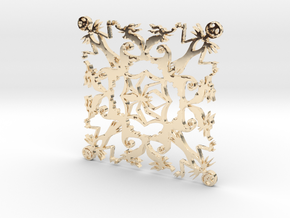 Nightmare Snowflake in 14K Yellow Gold