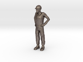 Foreman 1/29 scale in Polished Bronzed Silver Steel