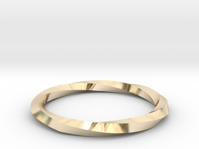 Nurbs Wedding Ring-Size 5.5 in 14K Gold