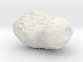 Comet 67P in White Natural Versatile Plastic