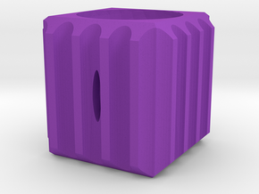 Dice54 in Purple Processed Versatile Plastic