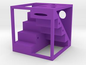 Dice50 in Purple Processed Versatile Plastic