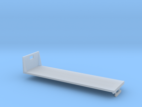 1/64th S Scale 30 foot flatbed in Smooth Fine Detail Plastic
