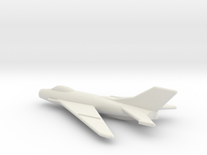 JA11 MiG-19S Farmer C (1/285) in White Natural Versatile Plastic