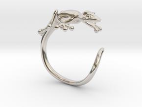 Gekko Wraparound Ring in Platinum