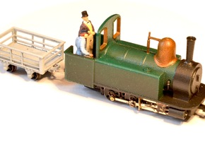 Alexandra + FREE Slate Wagon in Frosted Ultra Detail