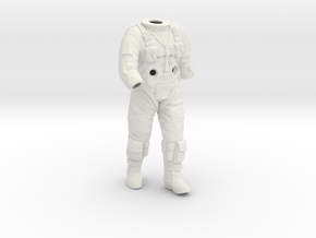 Gemini Astronaut / 1:6 / Walking Version in White Natural Versatile Plastic