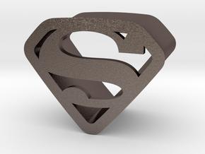 Super 16 By Jielt Gregoire in Polished Bronzed Silver Steel