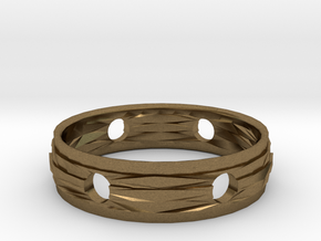 Ring18(18mm) in Natural Bronze