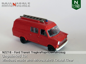 Ford Transit TSF (N 1:160) in Frosted Ultra Detail