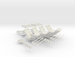 CARF P-47 scale detailed parts  in White Strong & Flexible