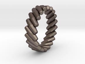 Mecanum Wheel Ring Size 7 in Stainless Steel