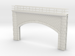 Bridge portal in White Natural Versatile Plastic