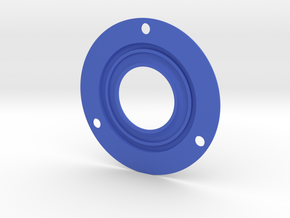 RE10-4 Frontplate 62mm (RM10-4v) in Blue Processed Versatile Plastic