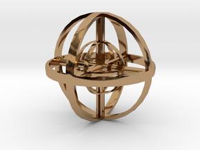 Zenball in Polished Brass