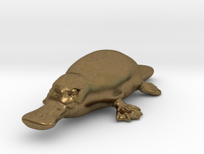 Platypus in Natural Bronze