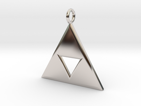 Triforce in Platinum