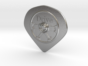 Hard pick(drive) in Natural Silver