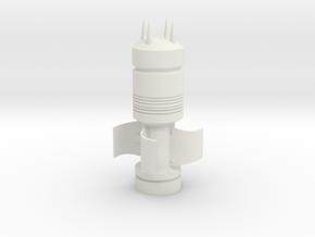 SSSR Bullet - Elysium Prop in White Natural Versatile Plastic