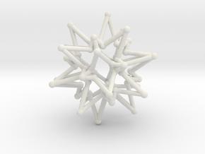 StarCore 2 Layers - 2.6cm in White Natural Versatile Plastic