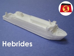 MV Hebrides (1:1200) in White Natural Versatile Plastic