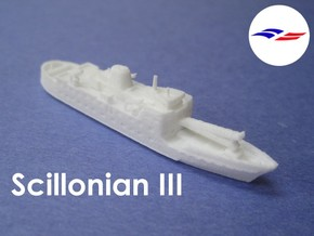 RMV Scillonian III (1:1200) in White Strong & Flexible: 1:1200