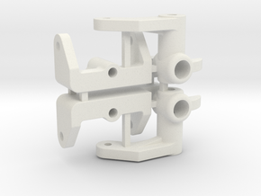 NIX91-Steering Blocks SLS in White Natural Versatile Plastic