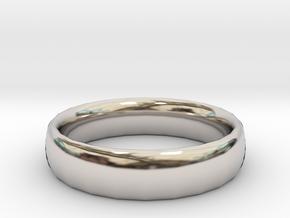 plain Ring Size 22x22 in Platinum