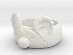 BearRing S9 in White Natural Versatile Plastic