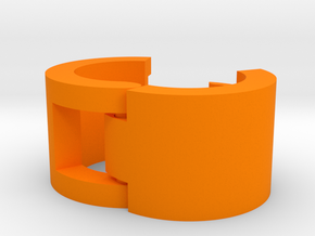 Cord Identification Clip in Orange Processed Versatile Plastic