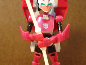 Sunlink - Arcee Bo Staff in White Natural Versatile Plastic