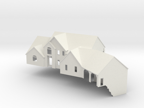 New England House - Nscale in White Strong & Flexible