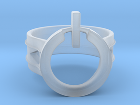 Power Ring Size 12 in Smooth Fine Detail Plastic