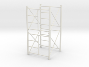 1/64 Scaffolding 2 high in White Strong & Flexible