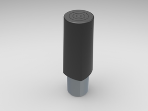 Test Dop in Black Natural Versatile Plastic