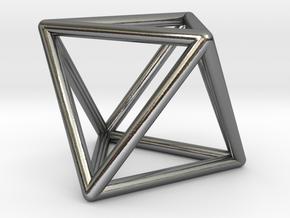 Vega Frame Single in Polished Silver