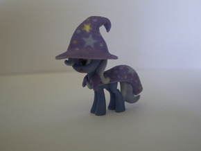 My Little Pony - Trixie (≈83mm tall) in Full Color Sandstone
